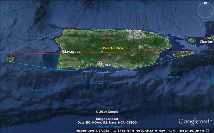 Archipiélago de Puerto Rico - Google Logo